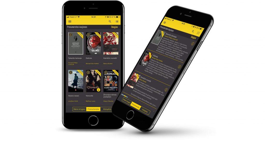 Milzinas mobile app